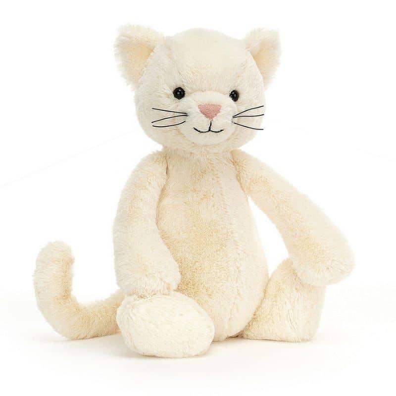 Bashful Cream Kitten Toy