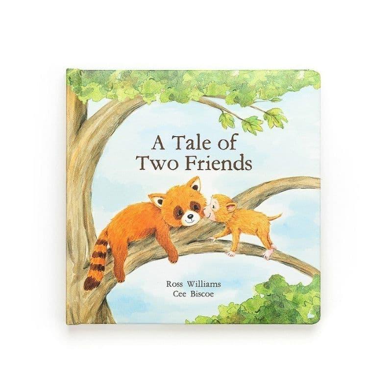 Jellycat Tale of Two Friends book
