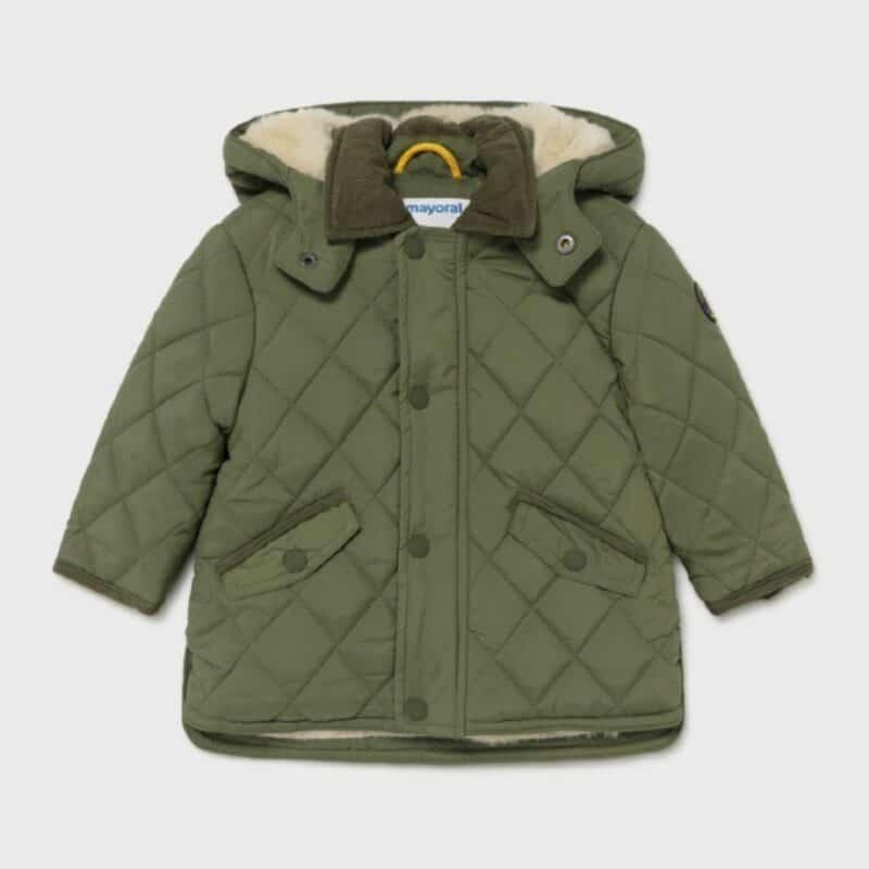 Padded Coat Hunt Green