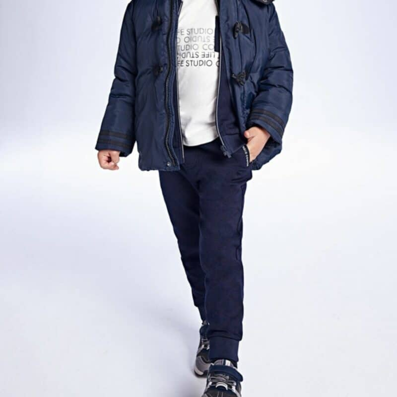 Long Trousers Navy Blue