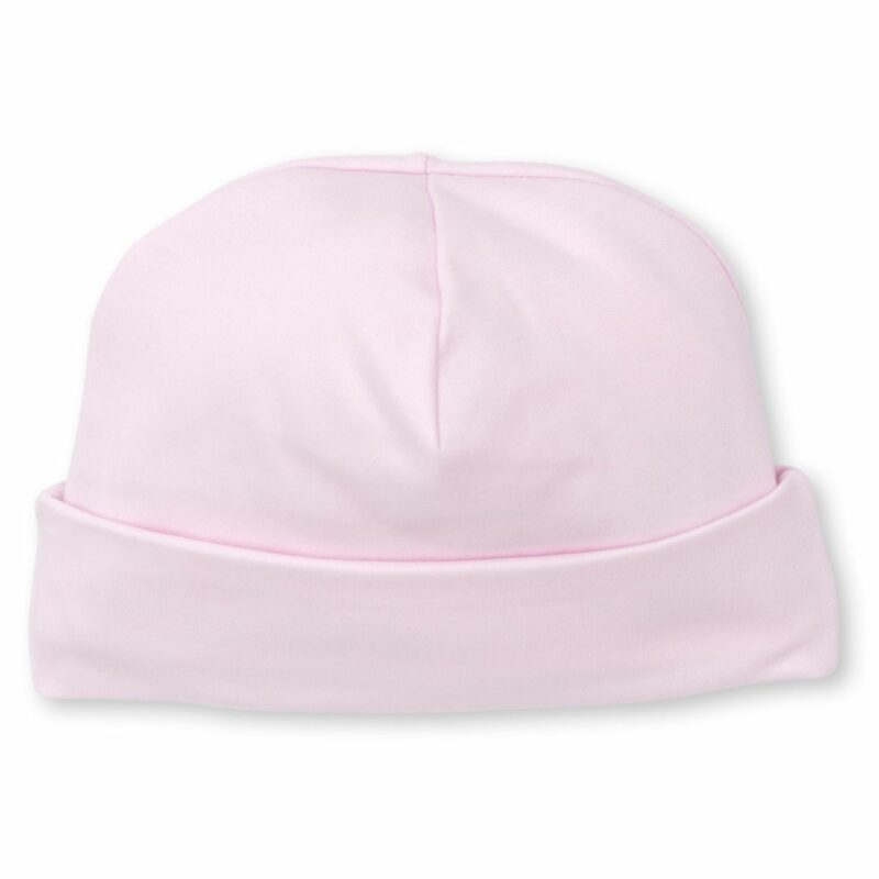 Hat Pink With Flower Detail