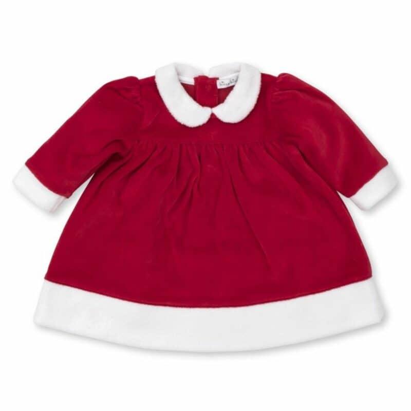 Kissy kissy Red Santa Velour Dress